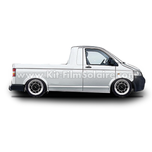 film solaire vw transporter t5 pick up 2007. Black Bedroom Furniture Sets. Home Design Ideas